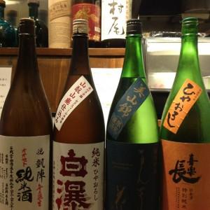 本日の日替り日本酒♪